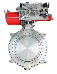 Triple Offset Metal Seated Butterfly Valve2