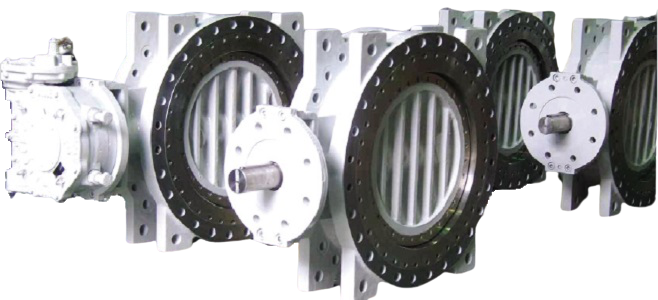 Triple Offset Metal Seated Butterfly Valve3