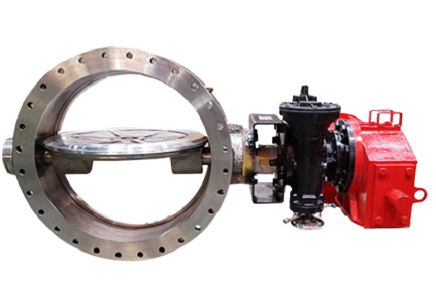 Triple Offset Metal Seated Butterfly Valve4